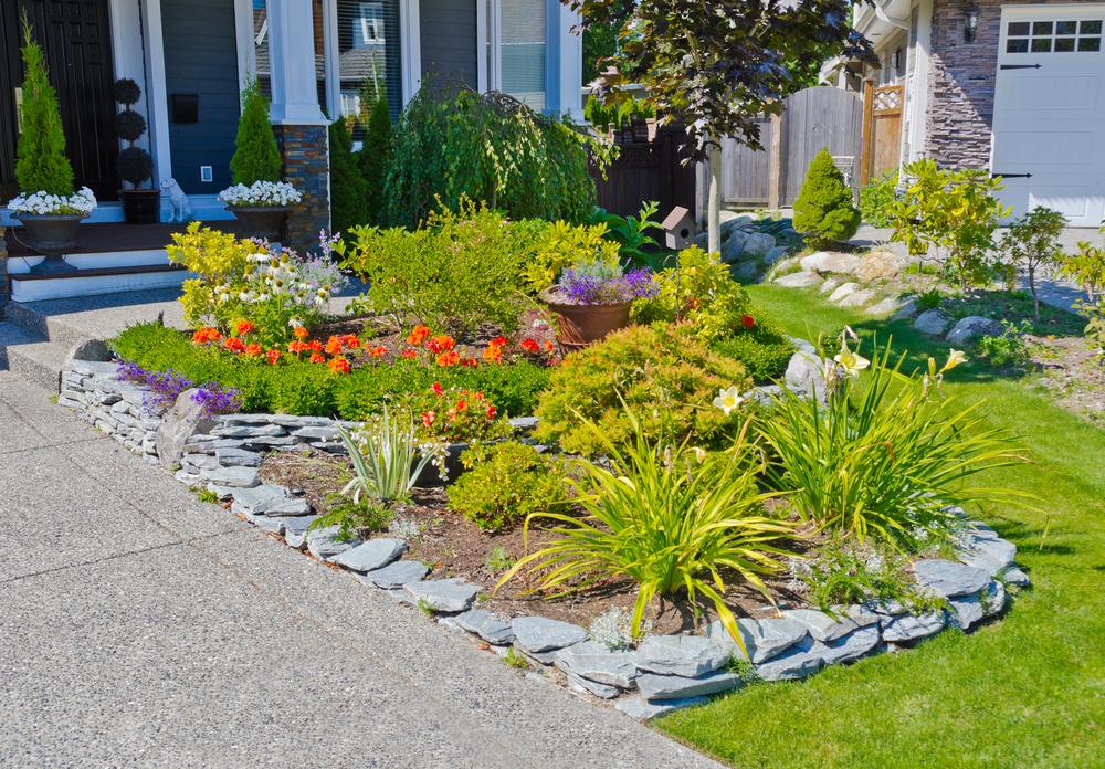 bordures de jardin faciles