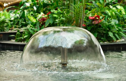 jet d'eau jardin
