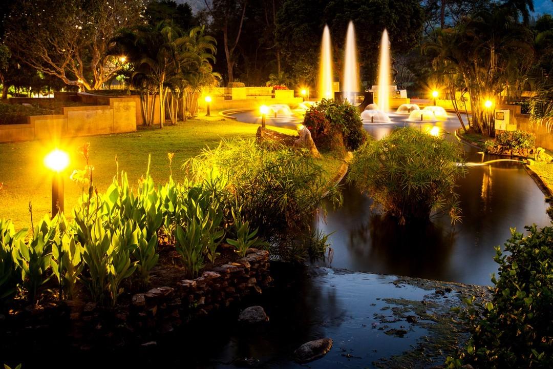 jet d'eau jeux de lumière