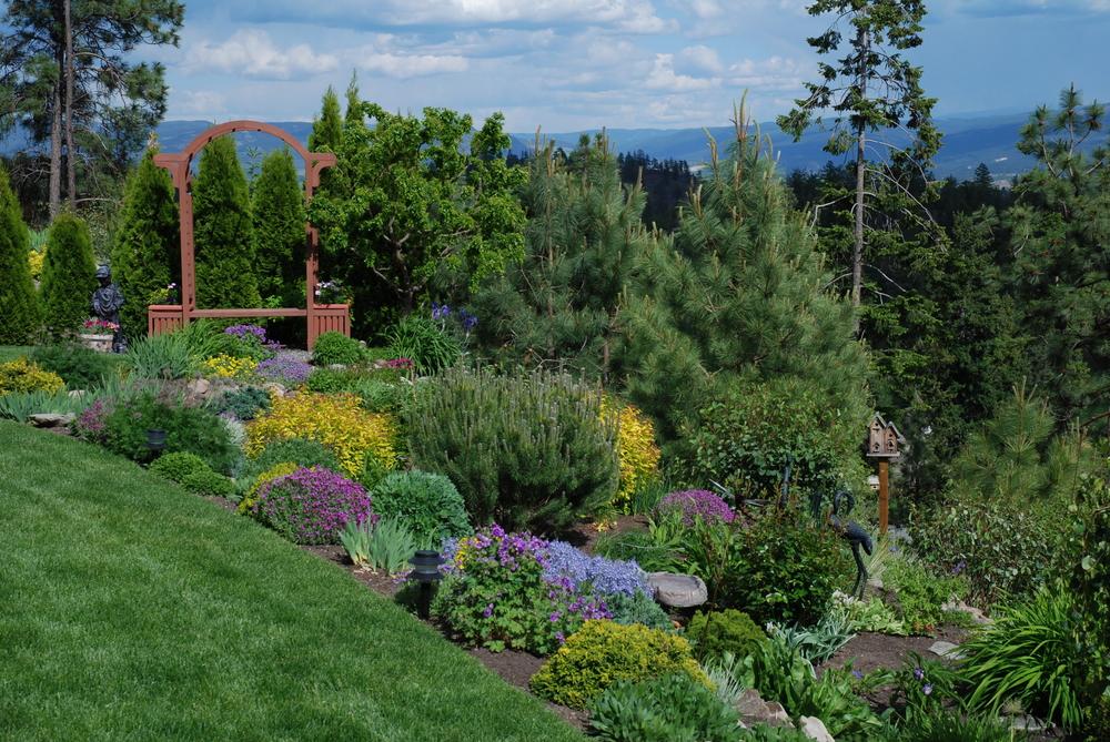 jardin en terrasse
