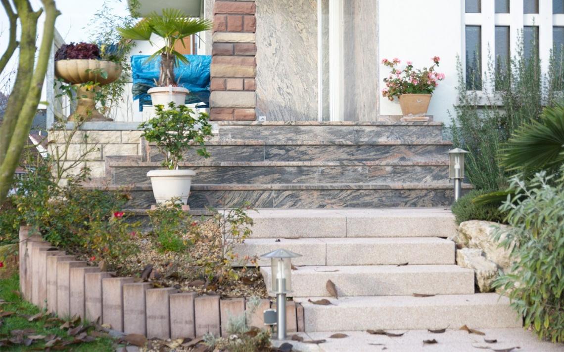 escalier paysagiste