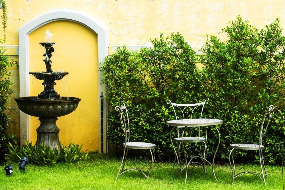 fontaine jardin fonctionnement