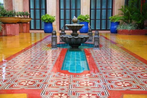 fontaine style marocaine