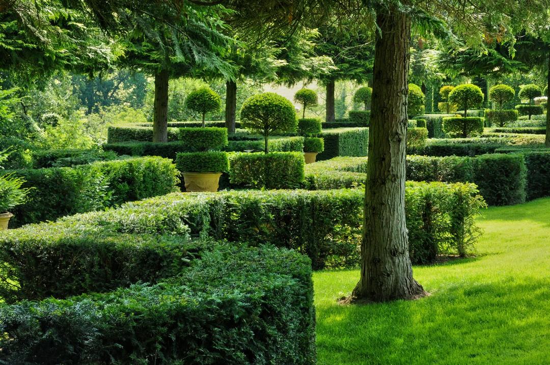 géométrie jardin Italien