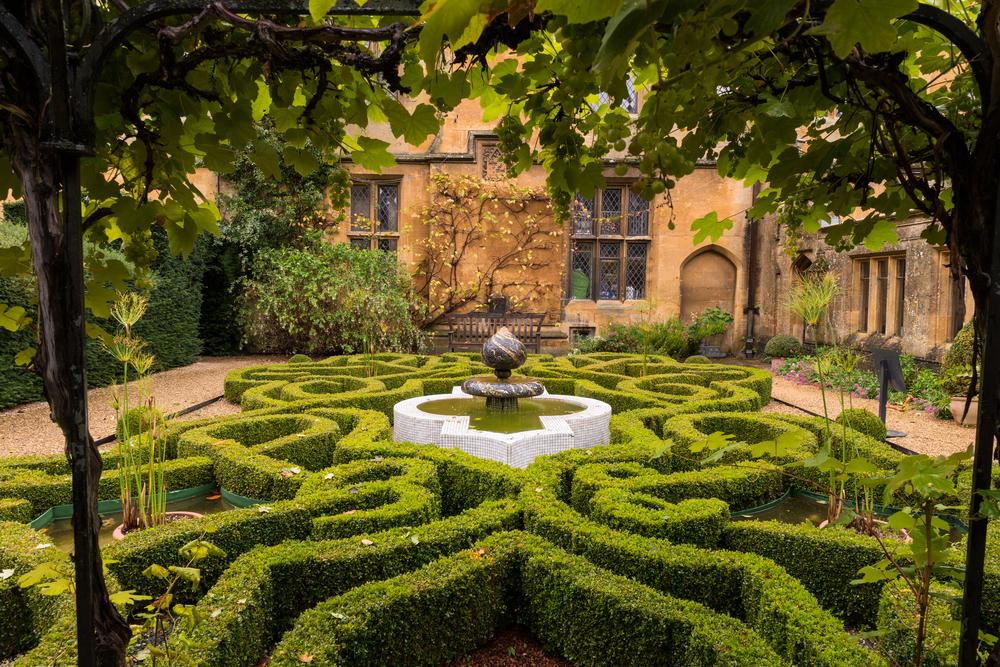 labyrinthe de jardin